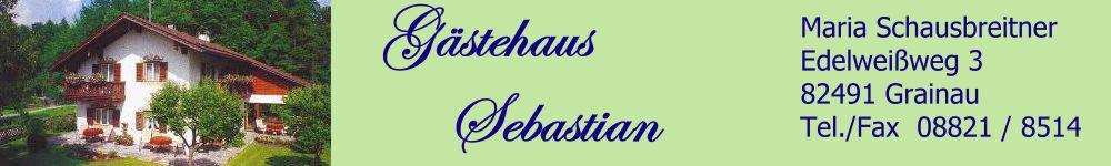 Gaestehaus Sebastian Grainau